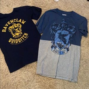 Two xs Harry Potter Ravenclaw tshirts